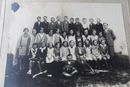 Teplýšovice... stará třídní fotografie