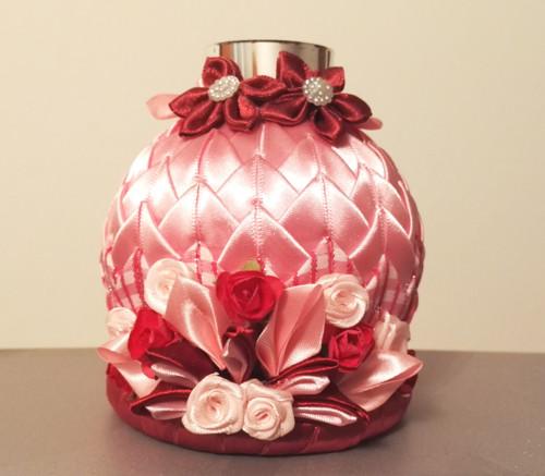 Rozkvetlý svícen růžový