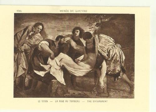 Umělecká pohlednice Le.Titien