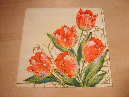 Ubrousek - tulipány 4