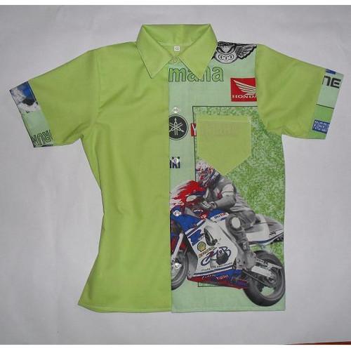 chlapecká košile Miloš 22  moto