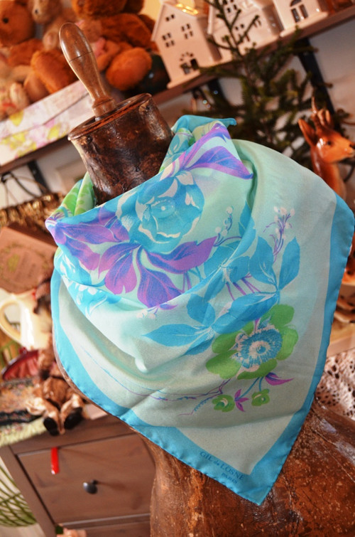 Rozzáří obličej.. tento jarní šátek...
