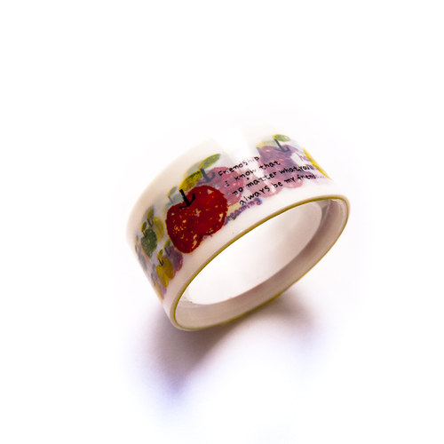 Lepicí páska - motiv barevná jablíčka