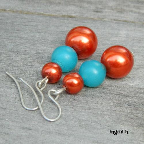 Barevné  perly