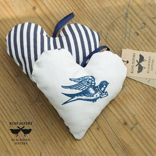 Miláčku mám dobrou zprávu :)... srdce v modré...