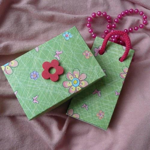 Dárková krabička a taštička