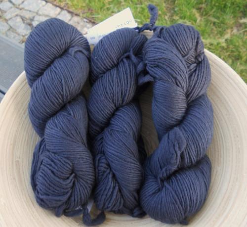 Merino Worsted - Blue Graphite, 192m (100% merino)