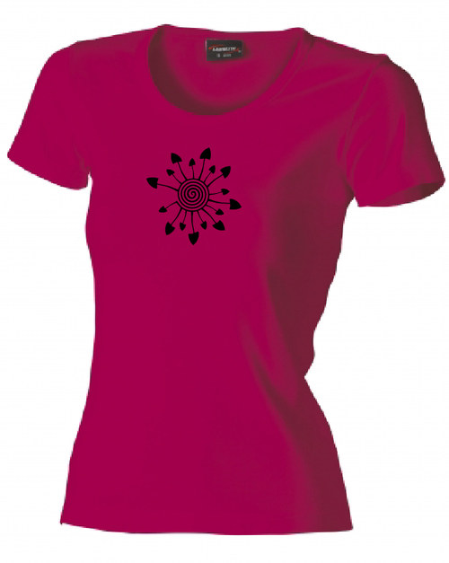 Dámské tričko - SMAŽENICE - růžová
