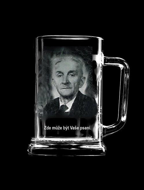 Pullitr s vaší fotografií - sklenice na pivo