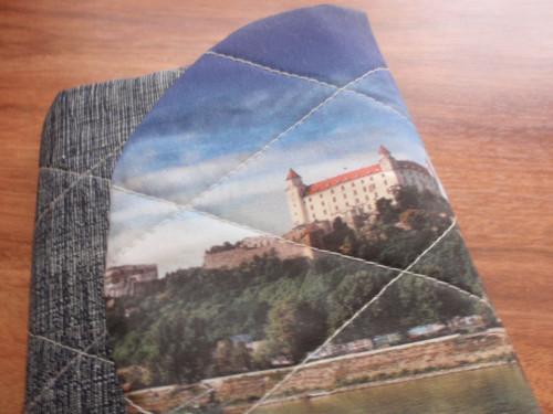 Obal na turistický deník - Bratislava
