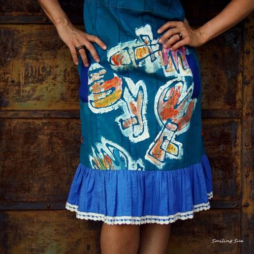 ...miluji puget z tulipánů...- šaty