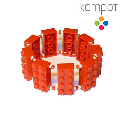 LEGO náramek :: červený
