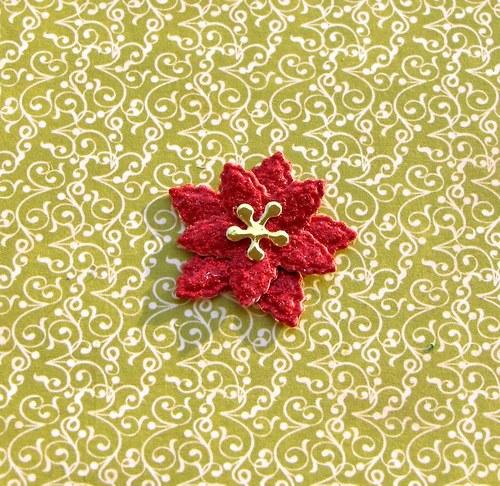 Vrstvená vánoční hvězda (malá)