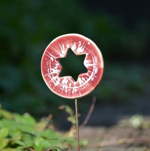 Zápich kolečko s hvěždou - Sladké mámení