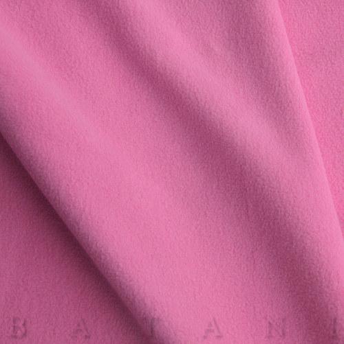 Microfleece antipilling tmavě růžový