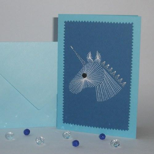 Jednorožec modrý