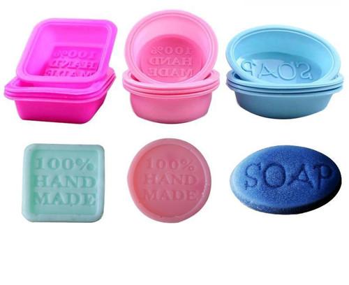 """Silikonová forma na výrobu mýdla \""""100% HAND MADE\"""""""