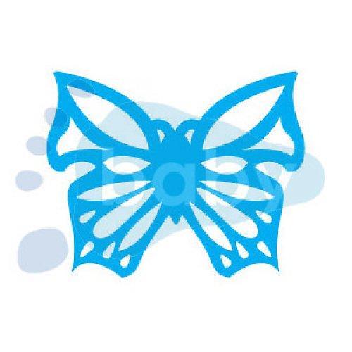 Razítko motýl 7 5 x 4