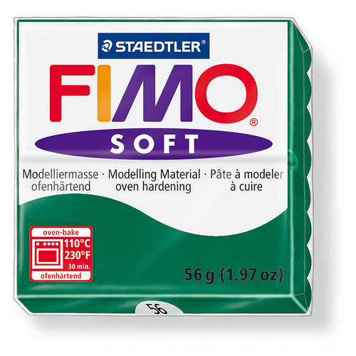 Fimo soft smaragdově zelená 56