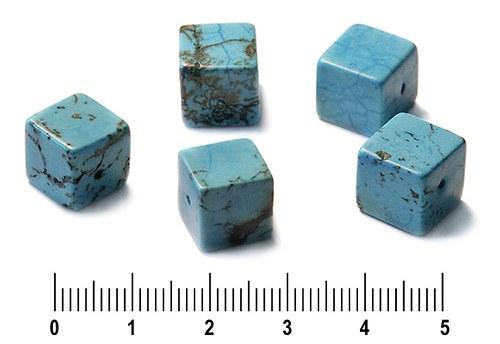 Tyrkenitové kostičky 10 mm, 1 ks