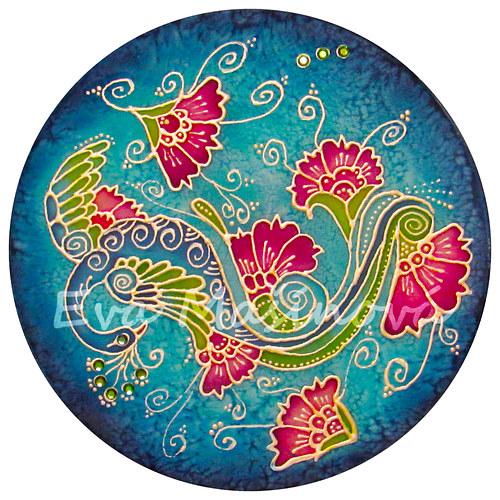 Mandala - paví zahrada