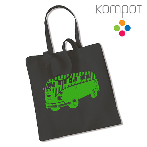 Taška s minibusem :: šedá