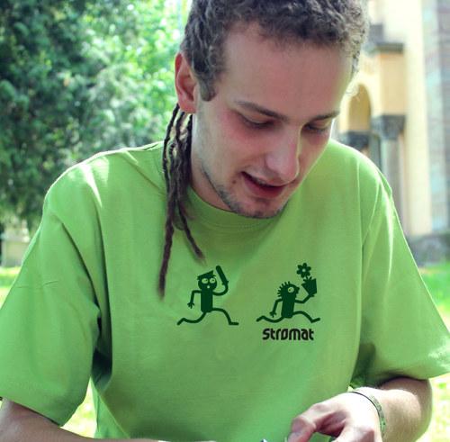 Pánské tričko - KONEC ZAHRÁDKÁŘŮ V ČECHÁCH -zelená