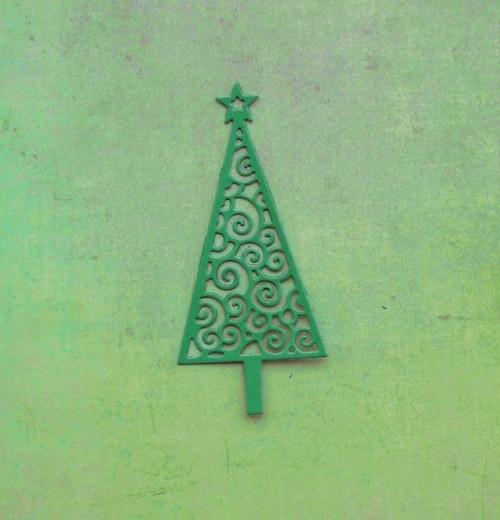 Vánoční stromeček filigránový