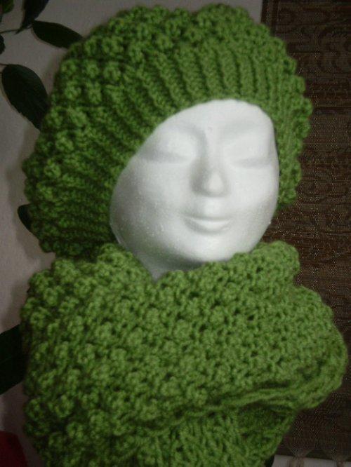 Zelený baret