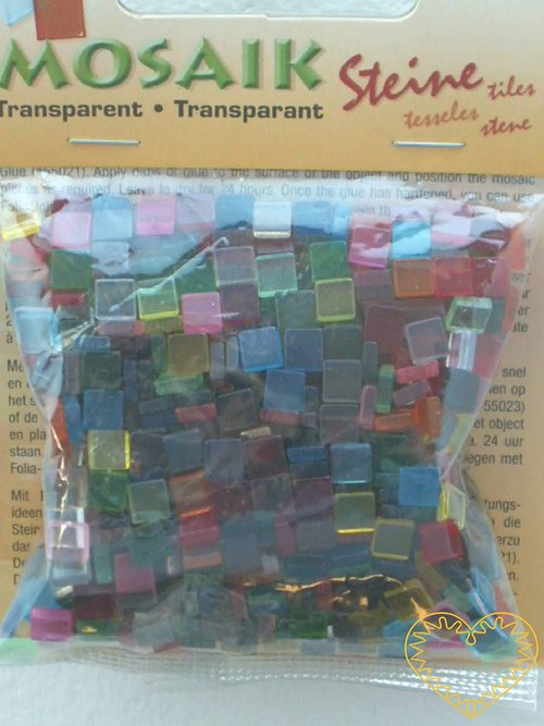 Průhledná mozaika - mix barev - 45 g