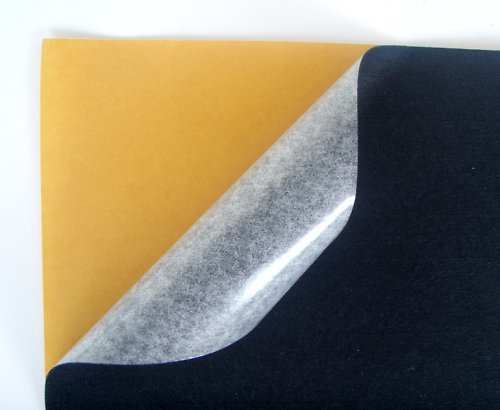 Samolepící plsť barva č. 18 - černá