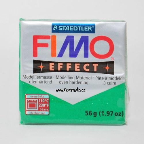 FIMO Effect / Glitter zelená (502)
