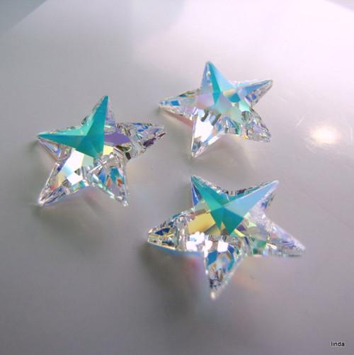 SWAROVSKI * ELEMENTS * Hvězda * 20mm * 1ks / bal
