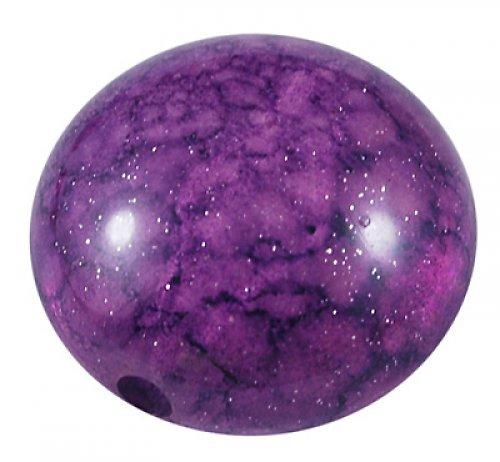 Akrylová čočka fialová, 3ks