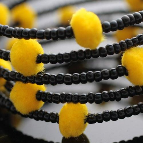 Černo-žlutá paměť - VÝPRODEJ