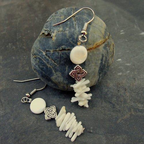 Perleťové mámení - náušnice