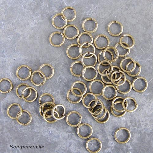 Spojovací koužky bronz 0,4