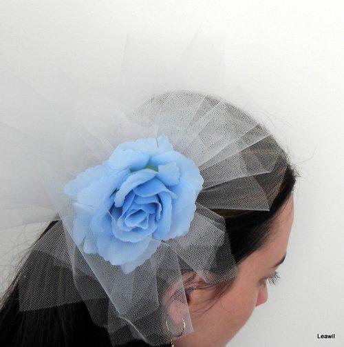 Pro odvážnou nevěstu modrobílá