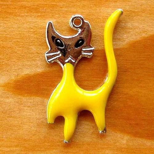 Kráčející Koťátko - Žluté