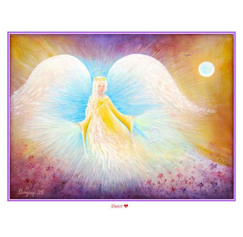 13. Anděl Strážný II. - reprodukce zarámovaná