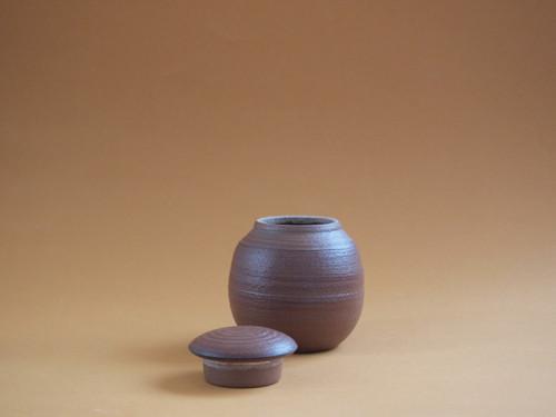 KERAMICKÁ DÓZA režná - nejen na čaj