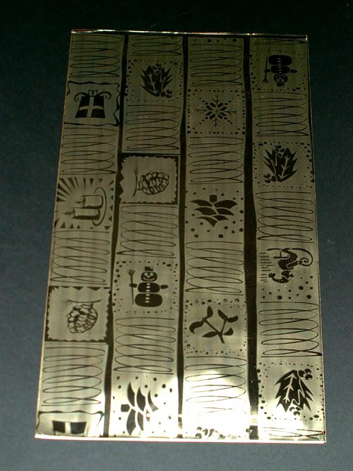 Zlaté polypropylenové sáčky 20 x 35 cm - 50 ks
