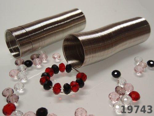 19743 Paměťový drát 20/0.6mm PLATINA, 80 otoček
