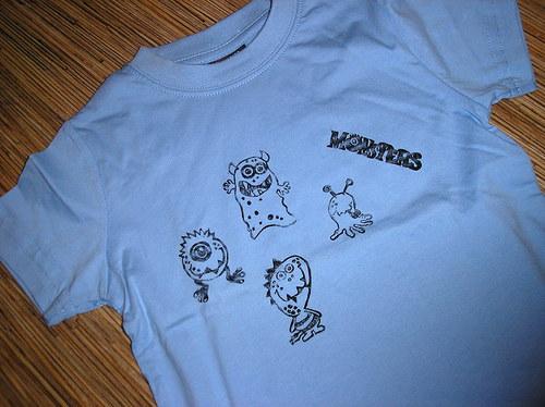 Monstrózně příšerné tričko