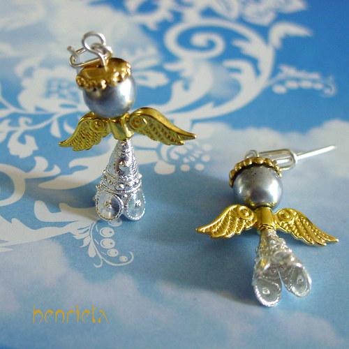 Andělky zlaté, stříbrné