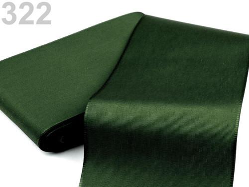 Taftová stuha 108mm (10m) - olivová zeleň