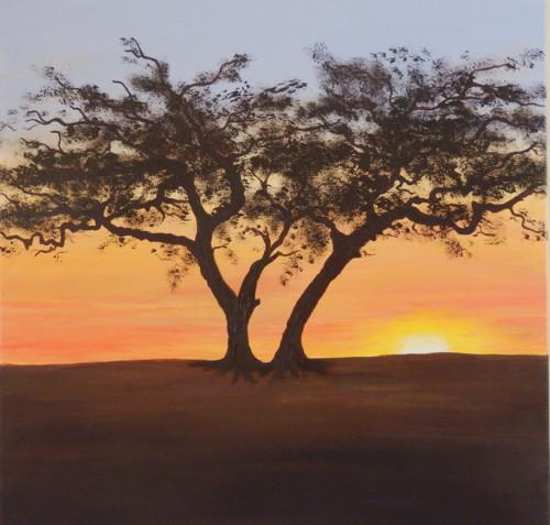 V západu slunce