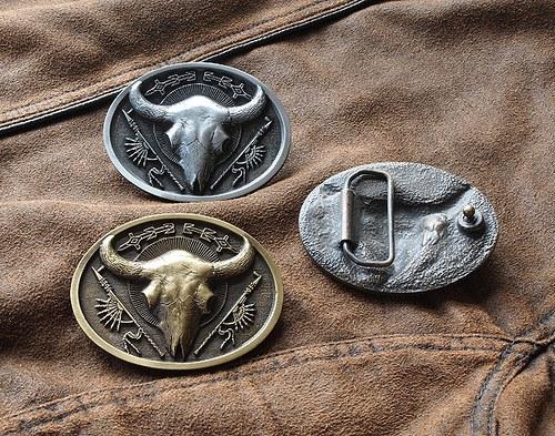 Buckle - Lebka bizona