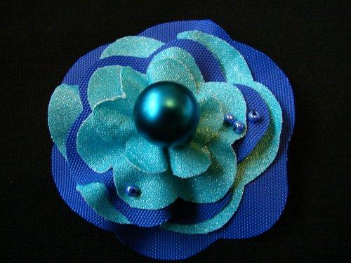 Brož - modrá