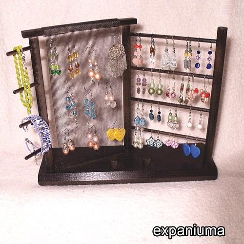 Stojánek na šperky - Ebenová Ester